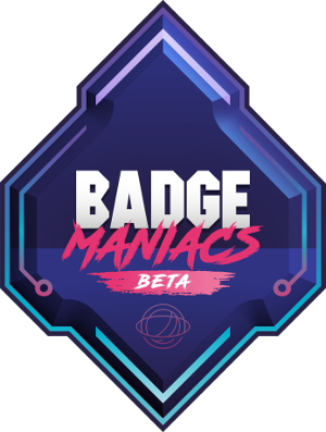 Badge Maniacs logo